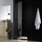 "UNIDOOR Shower Doors w/o panel 23"" - 43"""