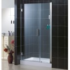 "UNIDOOR - 18"" Stationary Glass & TRIO Base"
