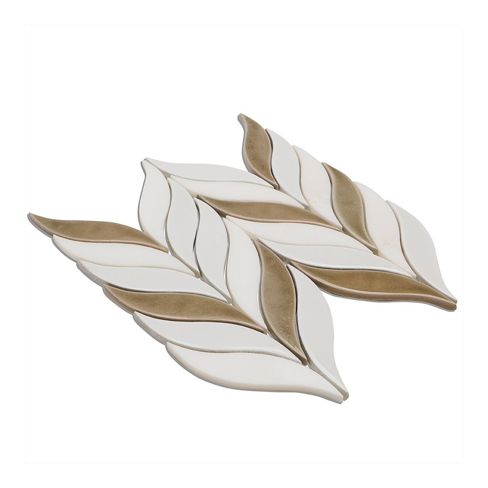 Baroque Floret Firma Blanco White Jade Tile In Style Store