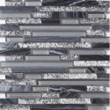 Tile in Style Silver Grey Mosaic